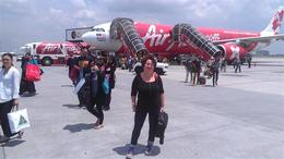 Kuala Lumpur International Airport , Gabriela T - May 2012