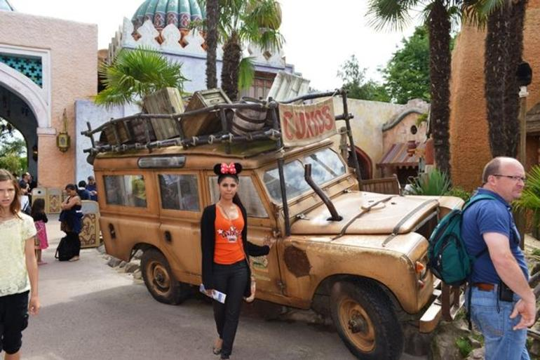 Indian Jones Jeep - Paris