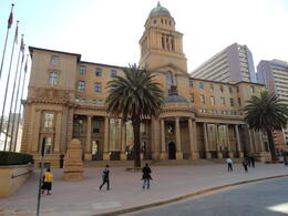 This is the beautiful old City hall in downtown Johannesburg. , wendy v - September 2013
