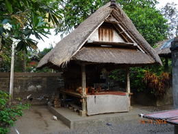 part of the ancient House accommodating a Grain-store , satish chandra - November 2014