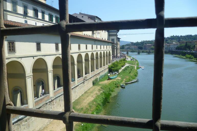 le corridor de VASARI - Florence