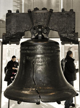 Historic Liberty Bell. , sancfab - April 2011