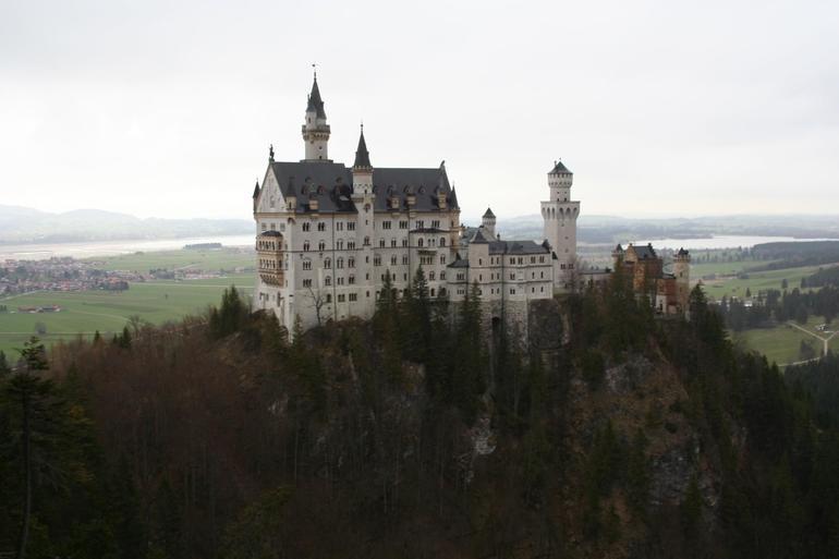 Neuschwanstein Castle, View from Bridge - Munich