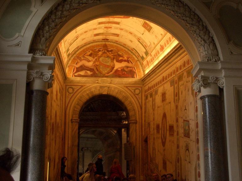 plafond d'une galerie - Rome