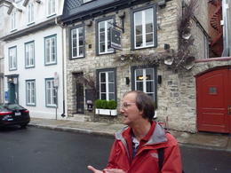 Robert - our excellent guide for the walking food tour. , Barbara L R - November 2013