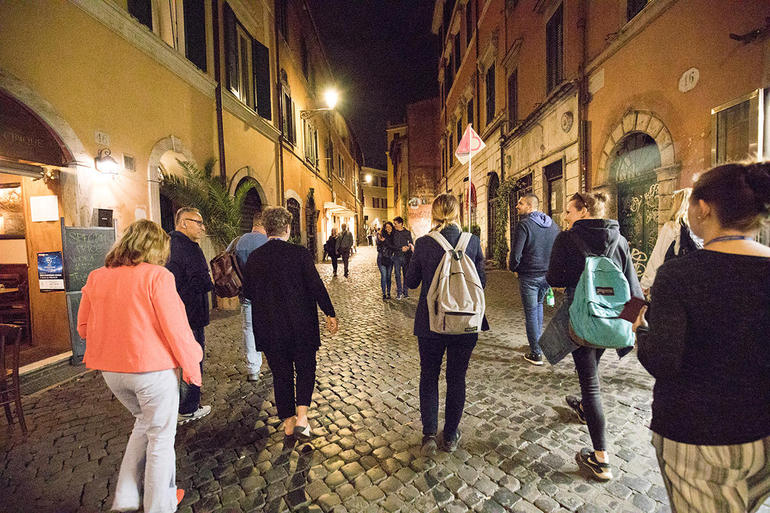 Rome by Night Tour Including Dinner photo 33