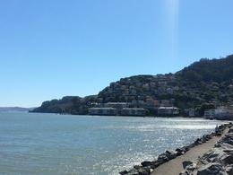 A view down the shoreline in Sausalito , Jimmy S - October 2013
