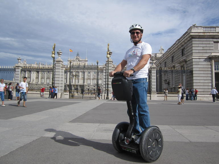 Segway tour, near Royal Palace Madrid - Madrid