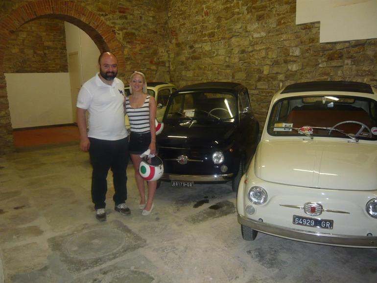 Self-Drive Vintage Fiat 500 Tour from Florence: Tuscan Hills and Italian Cuisine - Florence