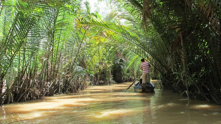 Small Boat Ride - Ho Chi Minh City