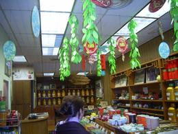 Chinese tea shop in Chinatown where we sampled and bought tea., Mandy D - November 2007