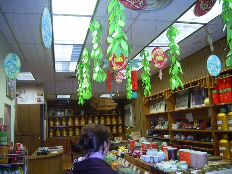 Tea shop in Chinatown, San Francisco - USA