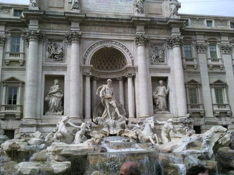 The Beautiful Trevi Fountain - Rome