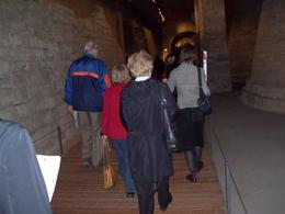 Our group enters the Louvre on our 'Best of Paris' tour., Ralph P - October 2007