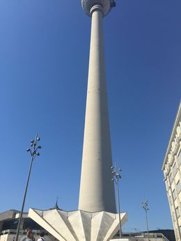 There is a red flag in the middle of Alexander Platz where we meet the group. The office of the tour bike shop is located right around where the flag is. The best way to get there is to look at the ... , Conchita A - July 2015