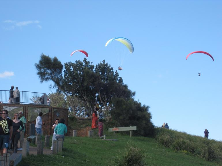 Tourists at Bald Hill -