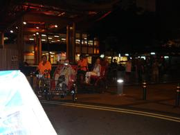 On the Trishaws in Singapore - May 2009