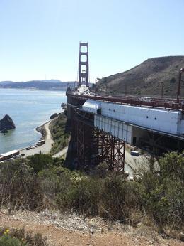 Golden Gate Bridge vista point - November 2013