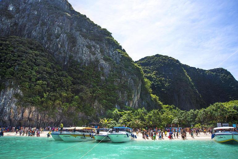 Krabi to Phi Phi Islands by Speedboat
