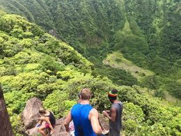 Met some locals at the top while taking a break. , brandi4589 - September 2015