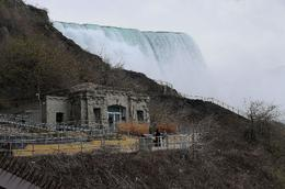 As seen from Maid of the Mist departure dock - May 2010