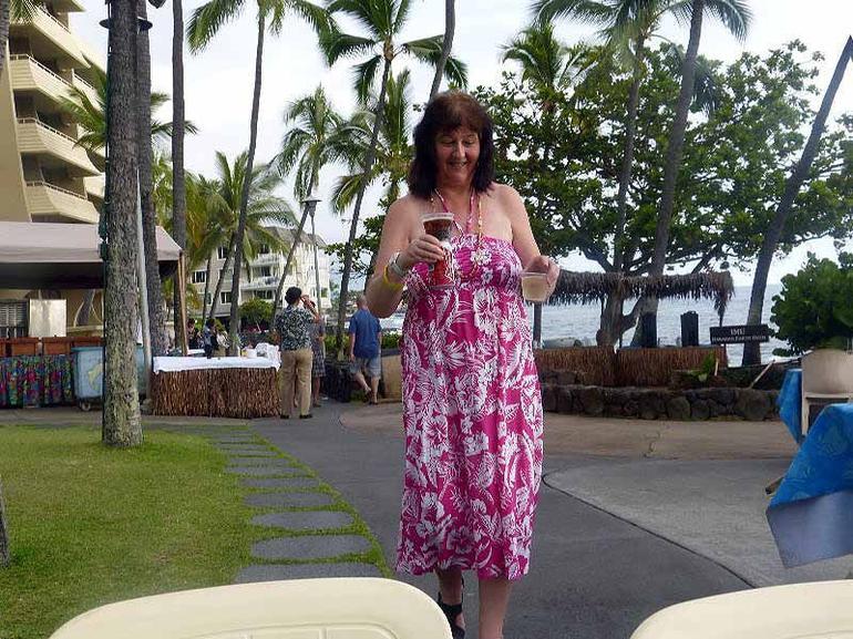 wife - Big Island of Hawaii
