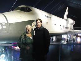 The Intrepid Air and Space Museum with the Enterprise space shuttle , beverley.darbyshire - November 2016