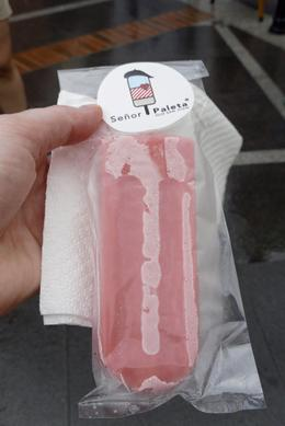 Gourmet popsicle! We had the guava flavor. , Elizabeth H - December 2016