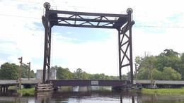 Lift bridge at Bayou L' Ours , Brian M - July 2017