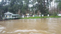 Arriving to Tigre , Lucas M - August 2017