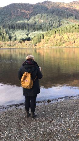Enjoying the scenery. , Maureen L - November 2017