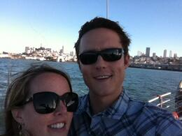 Great way to see the SF skyline!, KellyD - September 2012