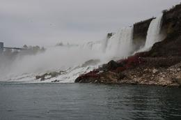 As seen from Maid of the Mist boat - May 2010