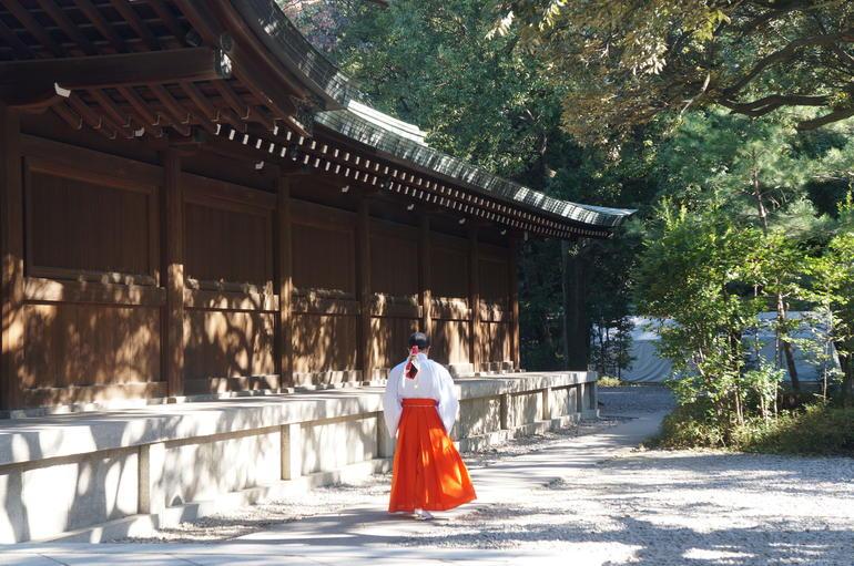 At the Meiji Shrine - Tokyo