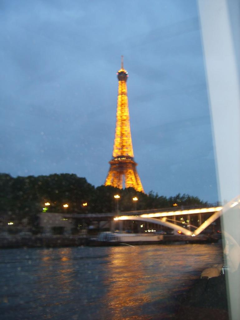 Cruising along the Seine! - Paris