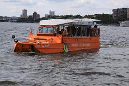 This is the part of the tour where you find out if your duck boat floats!, Richard M - October 2009