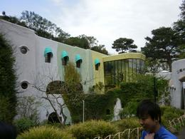 This is the front of the Studio Ghibli Museum as you go through the entrance/, Jonathan L - April 2010