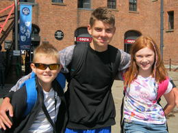 George/Elsie/Jack prior to refuelling in the eating places of The Albert Dock. , Paul F - August 2014