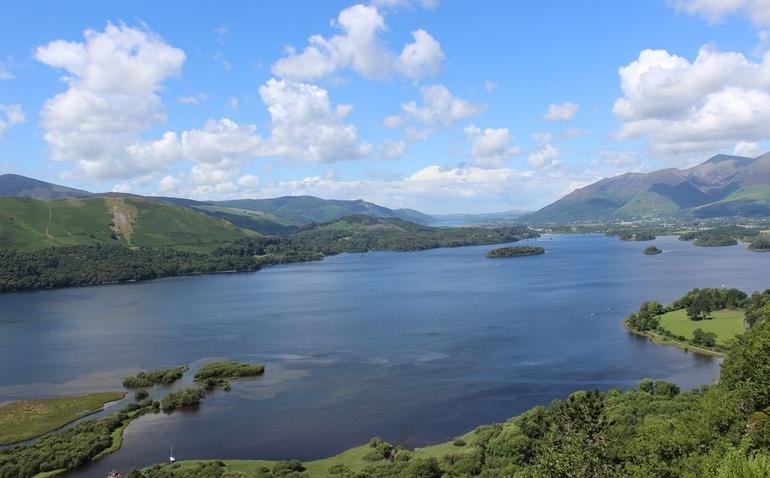 Lakes Aerial view - Lake District