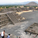Teotihuacan Pyramids and Shrine of Guadalupe, Ciudad de Mexico, Mexico