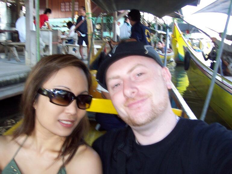 On the boat - Bangkok