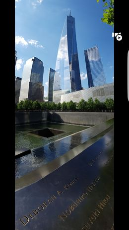 Very Moving visit to 9/11 Memorial Park , Bryan N - June 2016