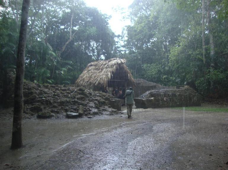 Rain in Tikal - Guatemala