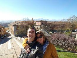 Aldo y Gabriela, de Uruguay, recorriendo Avila , ALDO R - November 2015