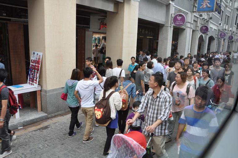 Shopping street. - Hong Kong