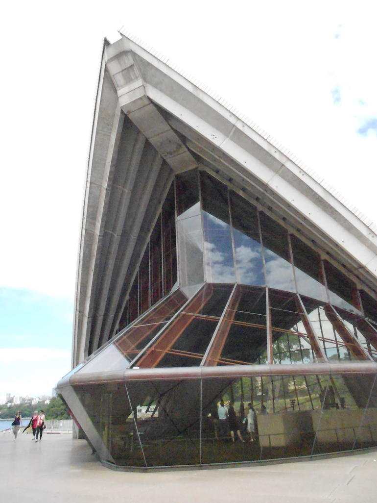 Sydney Opera House - exterior of the restaurant - Sydney