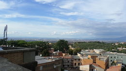Looking from Frascati to Rome. , Diane S - October 2015
