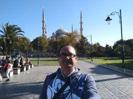 A view of Hagia Sophia from Hippodrome , Bakhteyer - November 2017