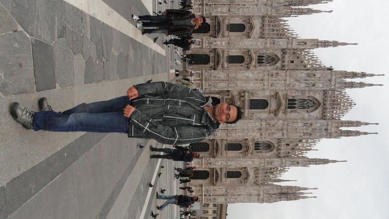 At Duomo Cathedral - Milan