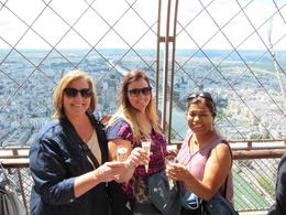 Toasting at the top , lwhalen1130 - August 2016